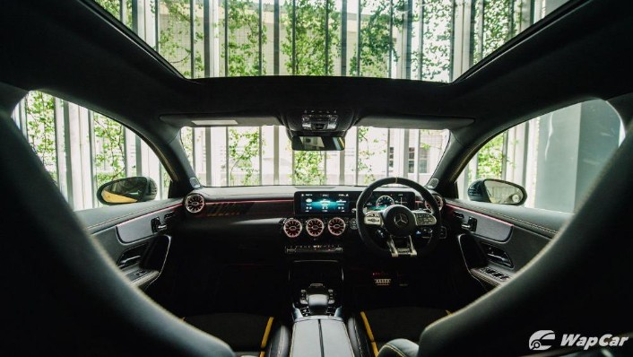 2020 Mercedes-Benz AMG A45 S Interior 001