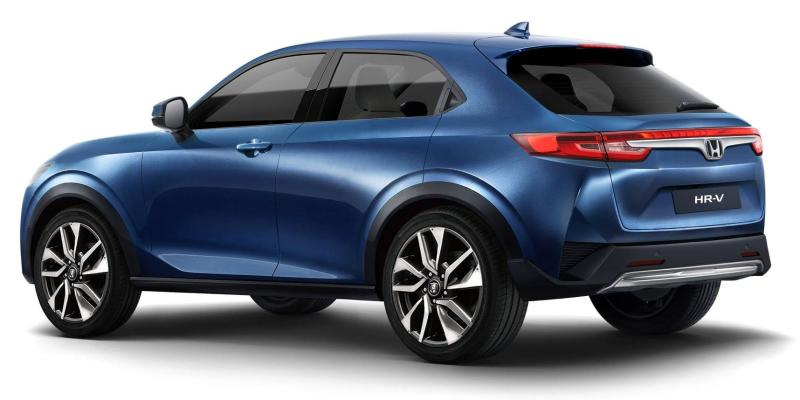 Rendered: All-new 2021 Honda HR-V - Most accurate yet? 02