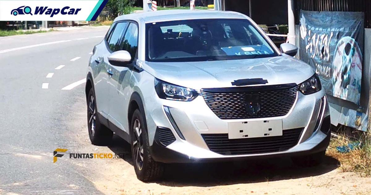 All-new 2021 Peugeot 2008 spotted in Malaysia, will be BAASB's first launch next year 01