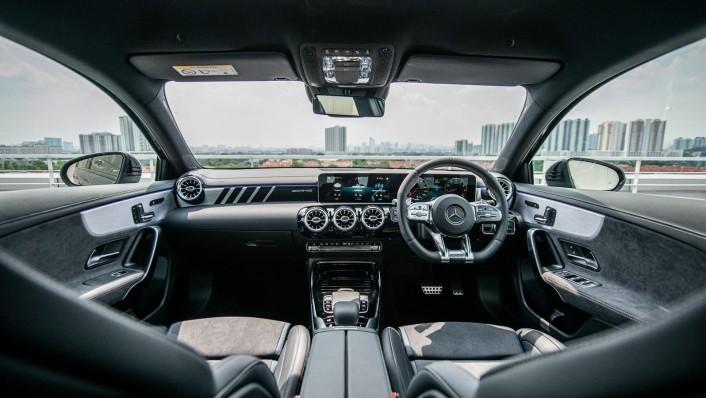 2020 Mercedes-Benz AMG A-Class A35 4MATIC Interior 002