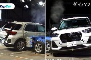 Adakah Daihatsu Rocky cukup selamat? Ujian JNCAP tunjuk skor berbeza