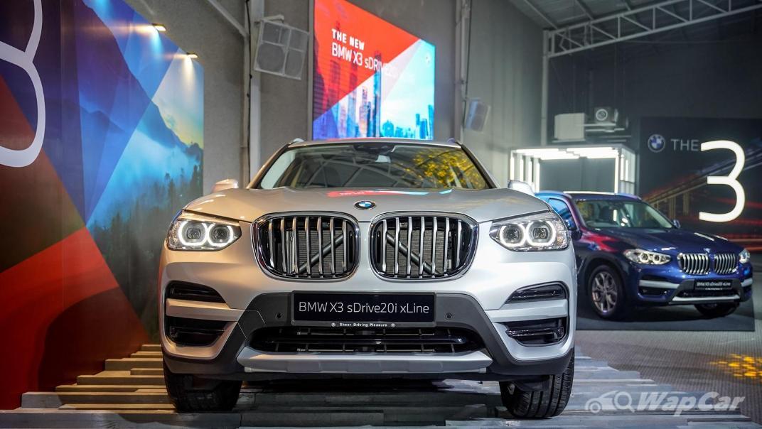 2021 BMW X3 sDrive20i Exterior 005