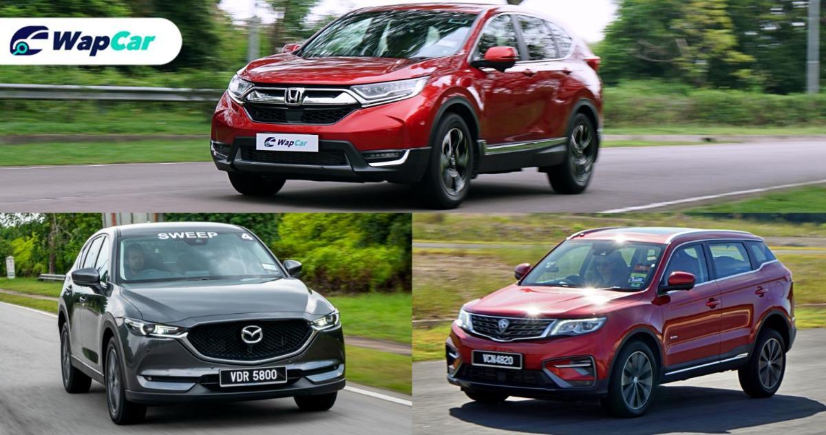 Ratings Comparison: Proton X70 vs Honda CR-V vs Mazda CX-5 - Overall results 01