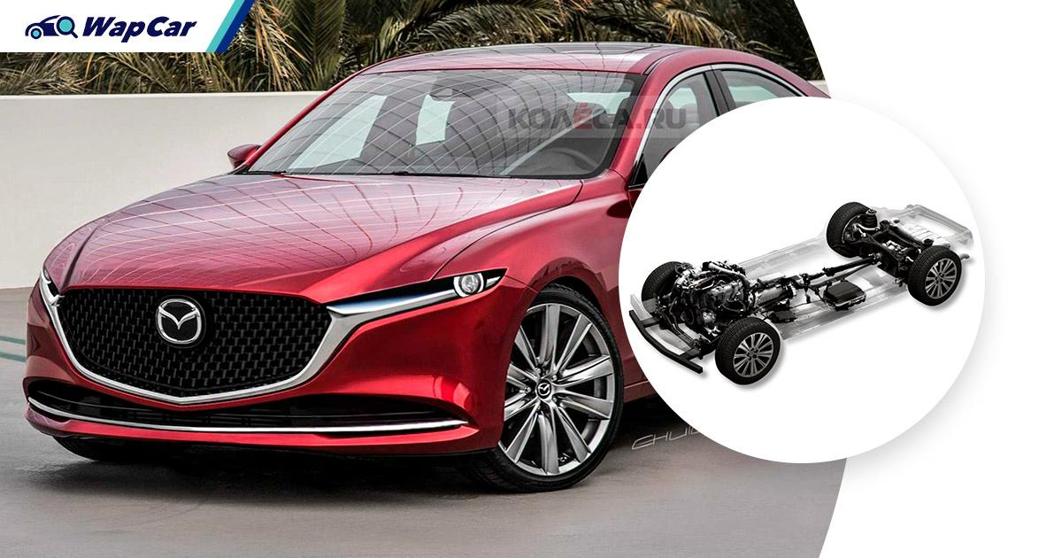 All-new Mazda 6: RWD, double wishbone and multi-link suspension makes it a 4-door MX-5 01