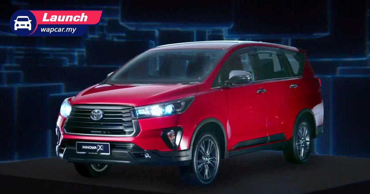 2021 Toyota Innova改款车型正式上市,标价RM 111k起跳 01