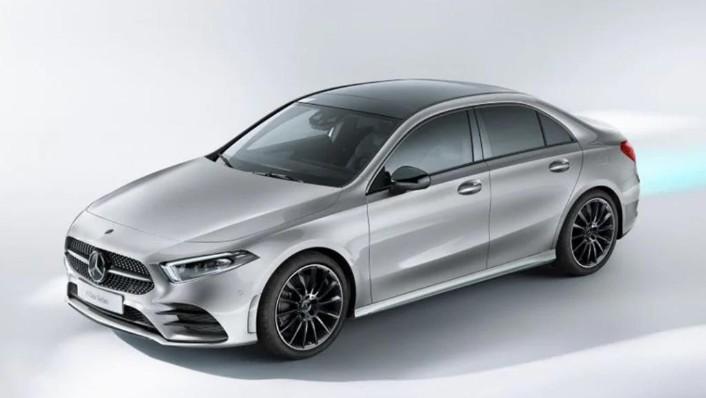 2019 Mercedes-Benz A200 Sedan Progressive Line Exterior 002