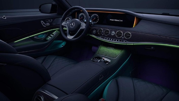 Mercedes-Benz Maybach S-Class (2018) Interior 001