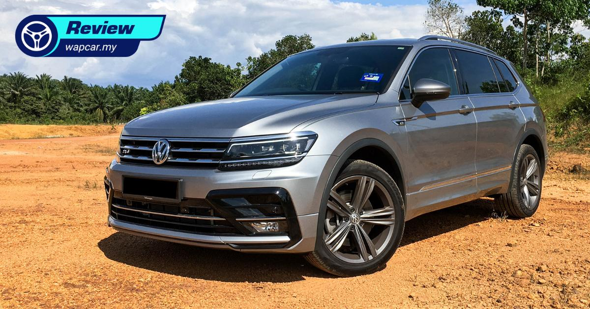 Quick Review: VW Tiguan Allspace R-Line in Malaysia - Same price, now with USB-C & Wireless Apple CarPlay 01