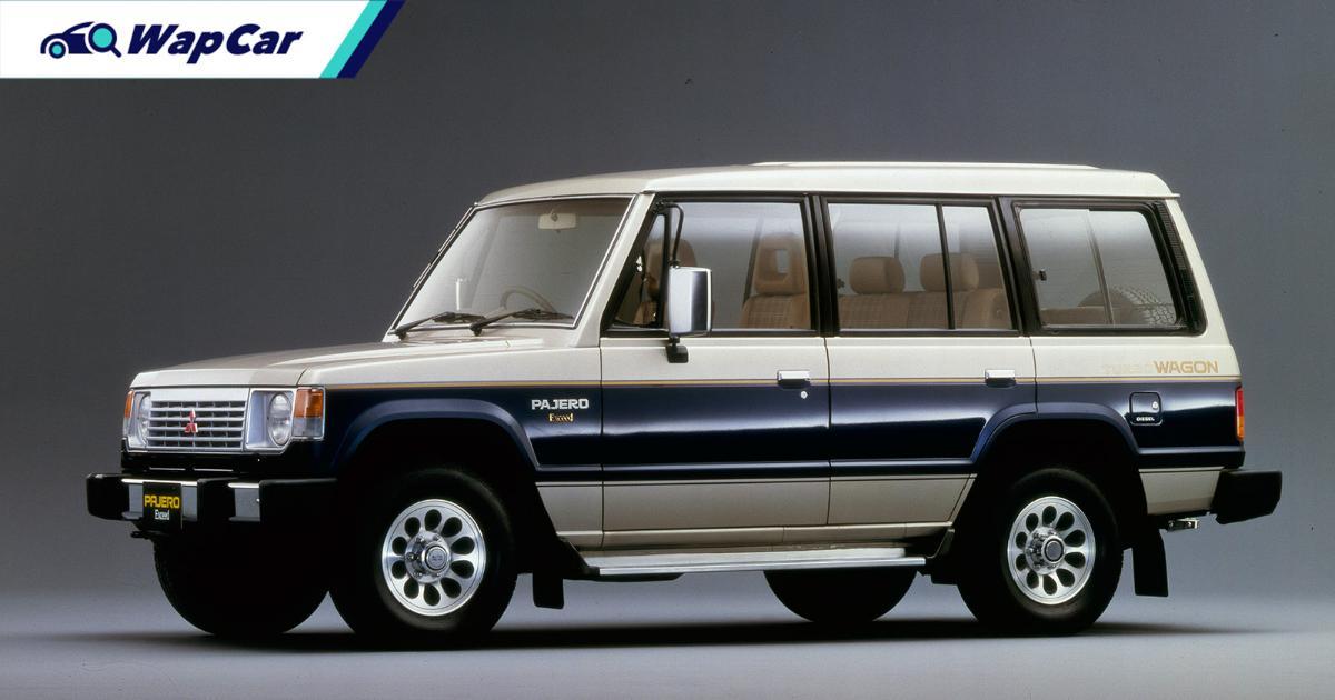 Sejarah Mitsubishi Pajero pertama – dari juara rali Dakar Paris ke sebuah SUV keluarga 01