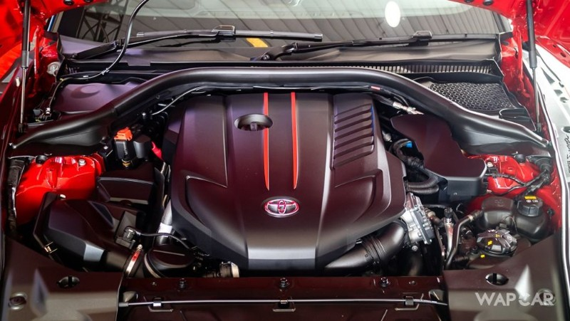 Toyota GR Supra engine
