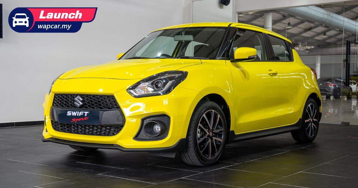 2021 Suzuki Swift Sport launched in Malaysia, priced at RM 140k, 1.4T with 140 PS and 230 Nm 01