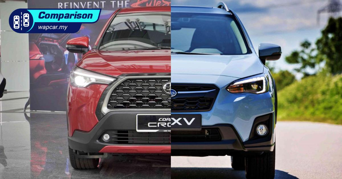 2021 Toyota Corolla Cross vs Subaru XV - TNGA vs AWD 01