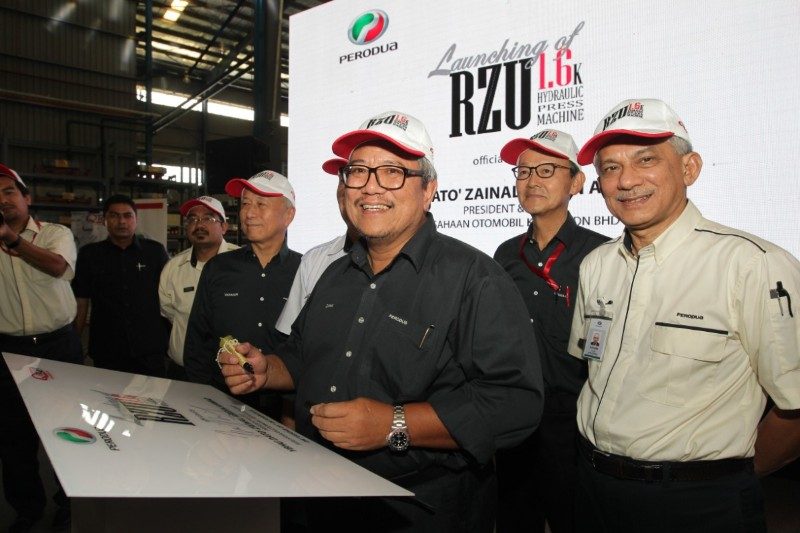 Perodua established parts workshop
