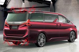 下一代Toyota Alphard或在2022年发布:有什么是值得期待的?