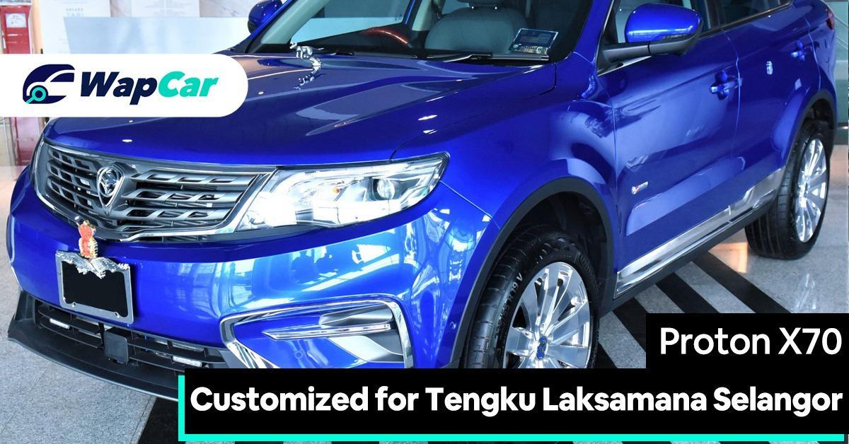 Dark blue Proton X70 for Tengku Laksamana Selangor, Rakyat to get different blue 01
