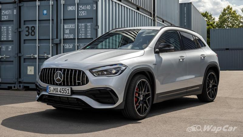 2020 Mercedes-AMG GLA 35 and GLA 45 - Photos to drool over 02