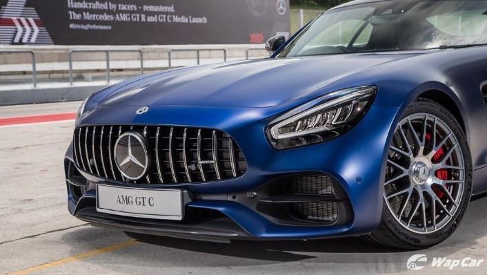 2019 Mercedes-Benz AMG GT C Exterior 008