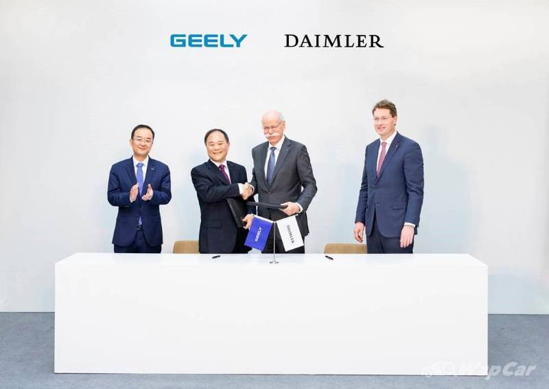 Did Geely's first-ever car predicted the company's partnership with Mercedes-Benz? 02