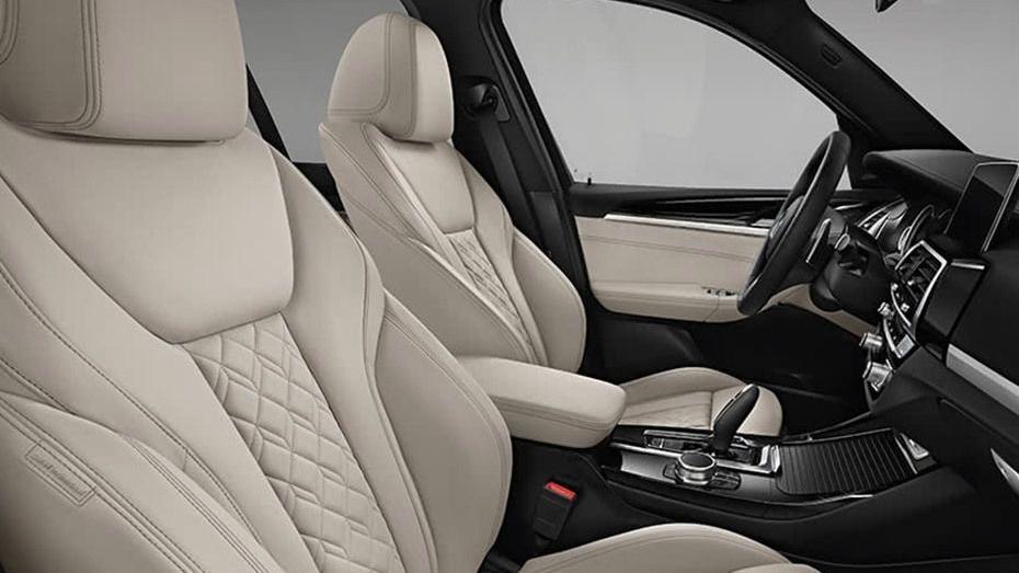 BMW X3 (2019) Interior 010
