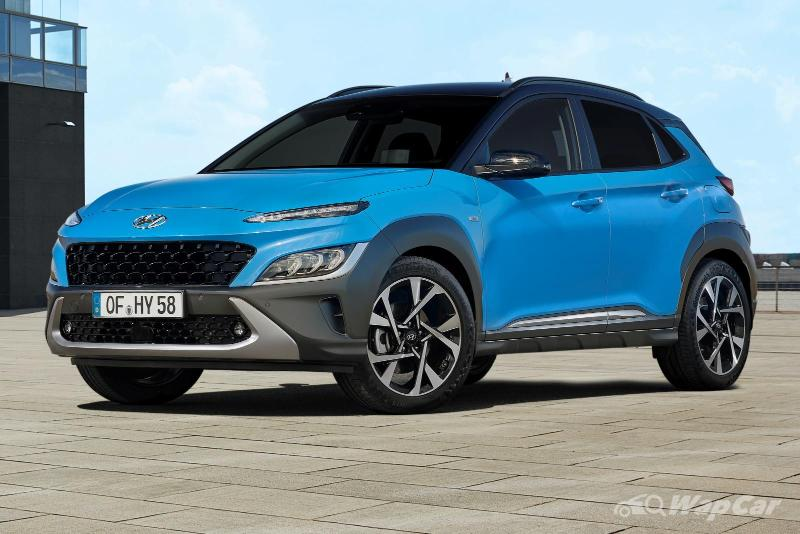 Hyundai Kona Facelift revealed: New mild-hybrid option, wireless Android Auto and Apple CarPlay 02