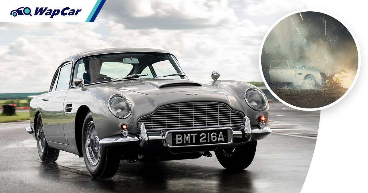 What makes BMT 216A the essential Bond car and what happened to it? 01