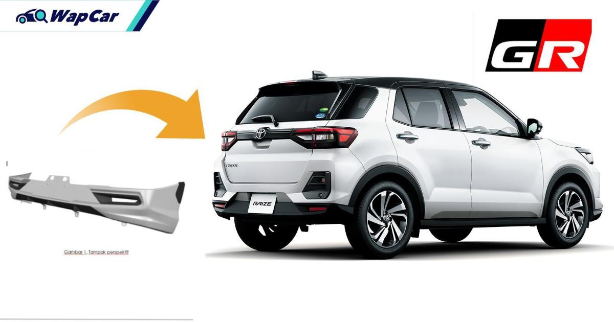 Toyota Raize 'GR Sport' for Indonesia - is this the GearUp kit for the Perodua D55L? 01