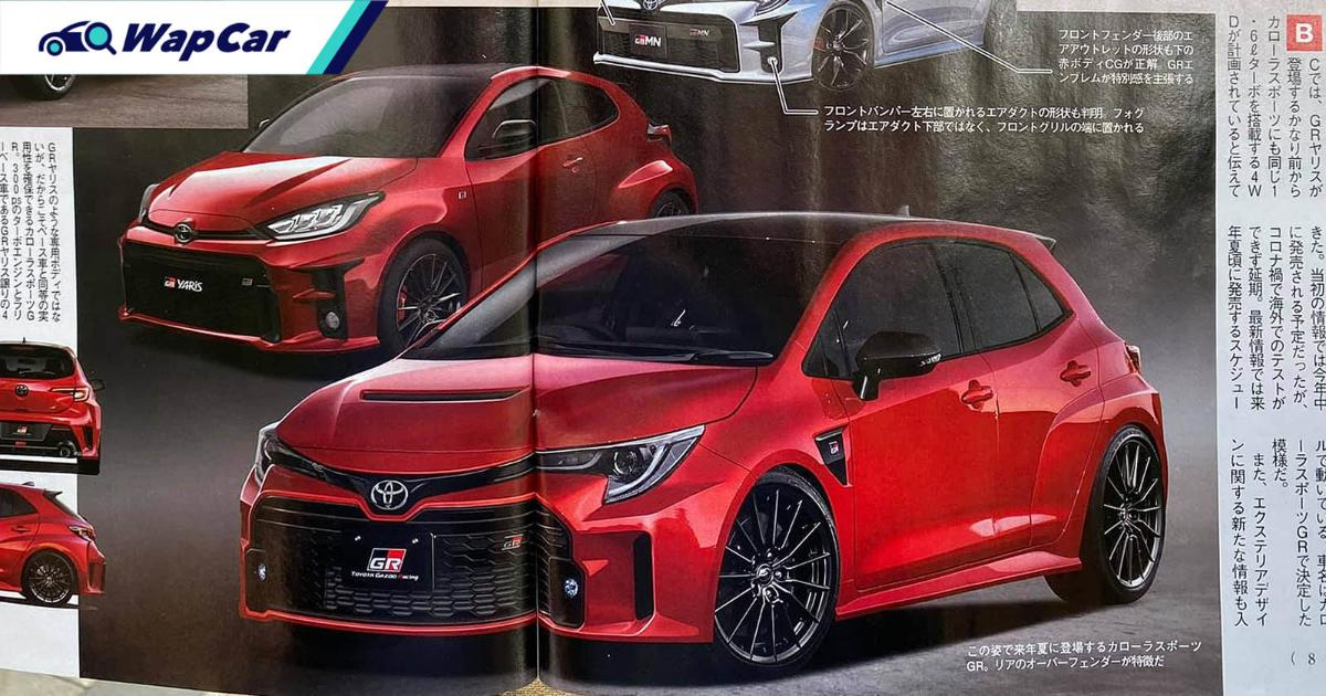 Watch out Golf R, the Toyota GR Corolla Sport could be coming soon! 01