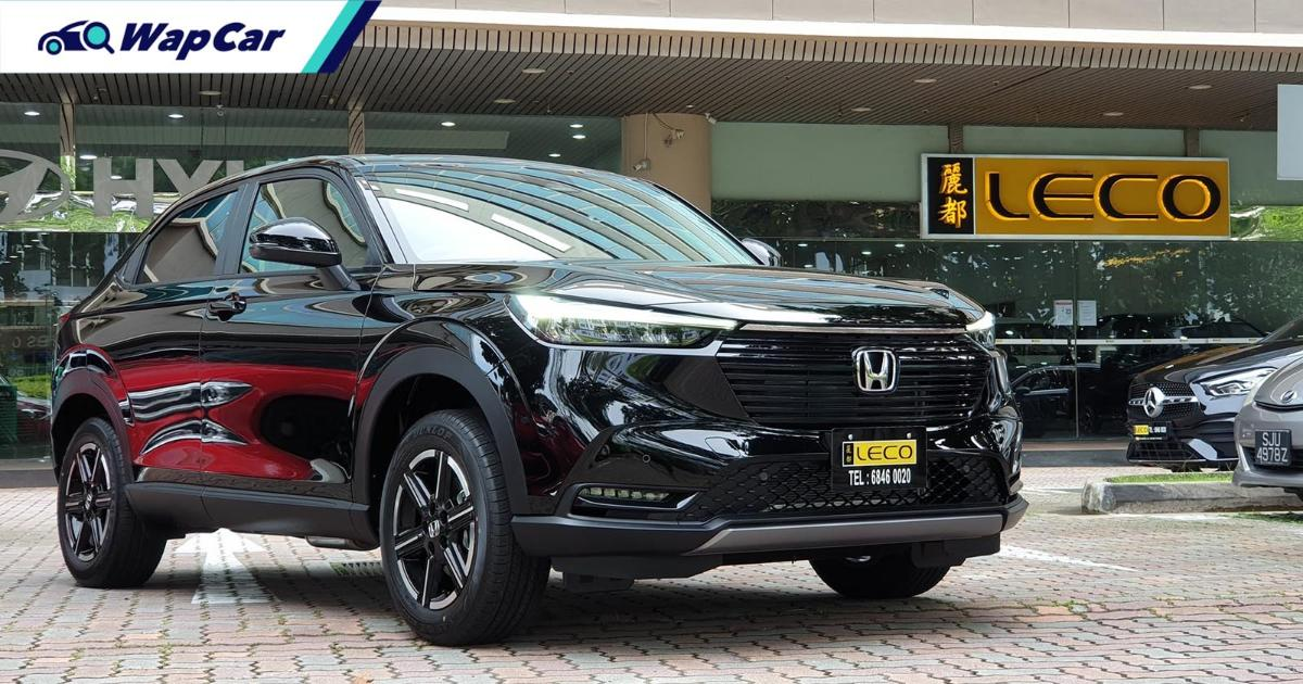 Here's a closer look at a recond all-new 2021 Honda HR-V from Singapore 01