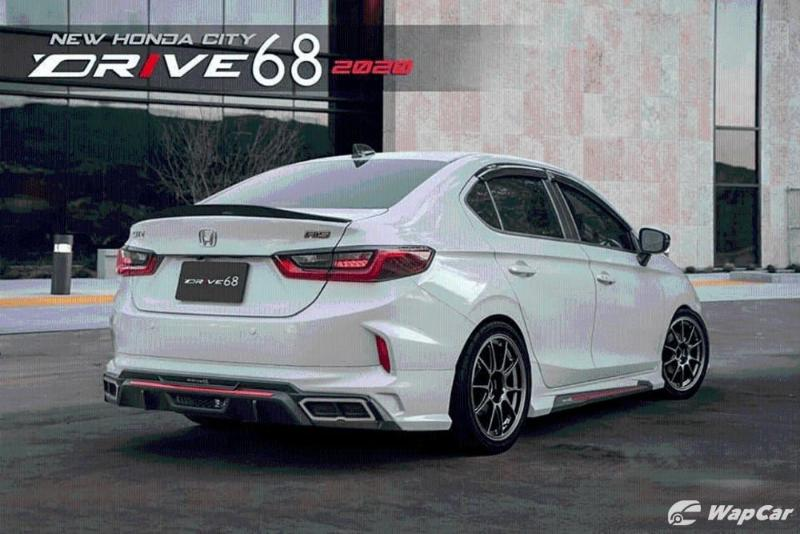Drive68 body kit fitted to the 2020 Honda City 02
