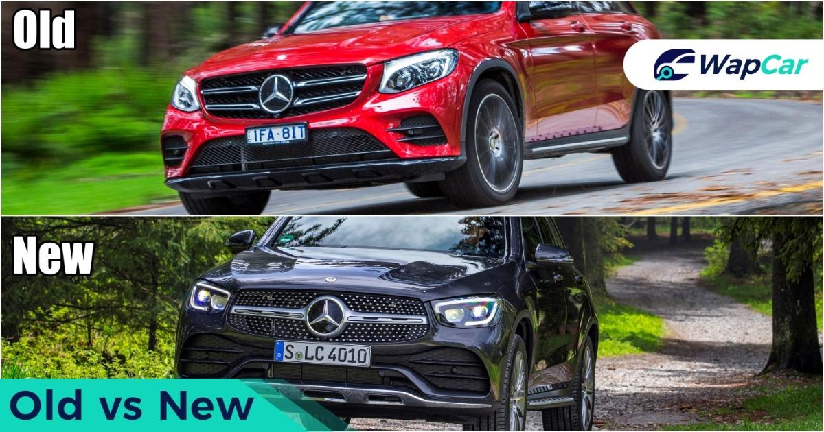 New Mercedes-Benz GLC facelift vs old GLC, so what's new? 01