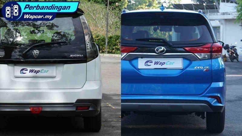 Perodua Aruz vs. Proton Exora: Perbandingan kereta 7 tempat duduk 01