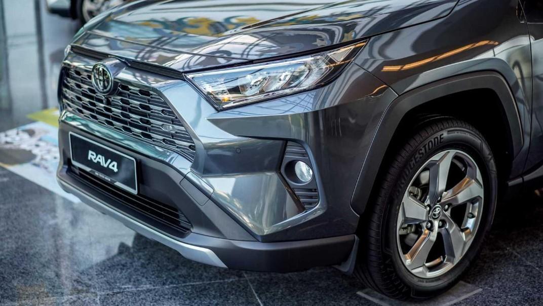 2020 Toyota RAV4 2.5L Exterior 059