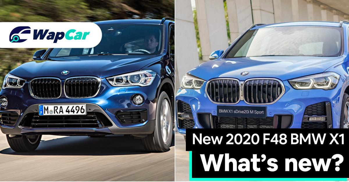 New 2020 F48 BMW X1 facelift – What's new? 01