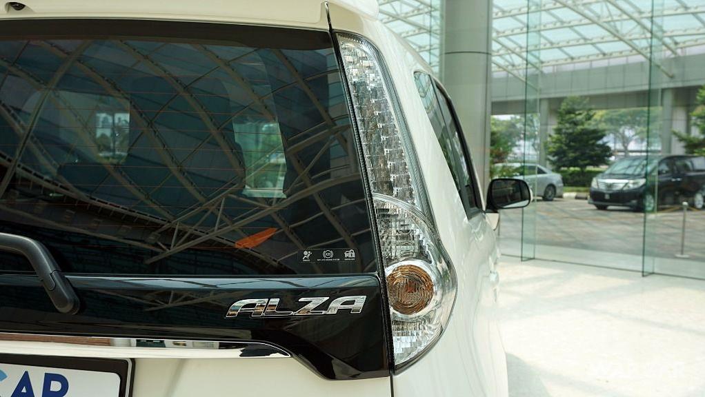2018 Perodua Alza 1.5 AV AT Exterior 016