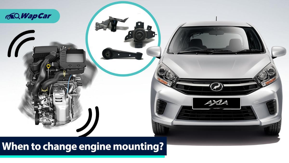 Engine mounting: 3 symptoms of bad engine mounts 01