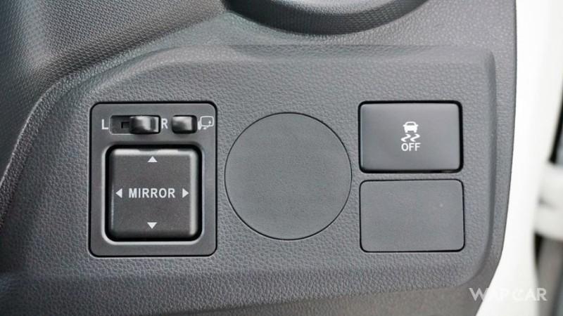 2019 Perodua Axia buttons