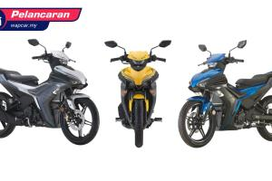 Yamaha Y16ZR 2021 tiba di Malaysia - model baharu, 155 cc, harga RM 10,888!