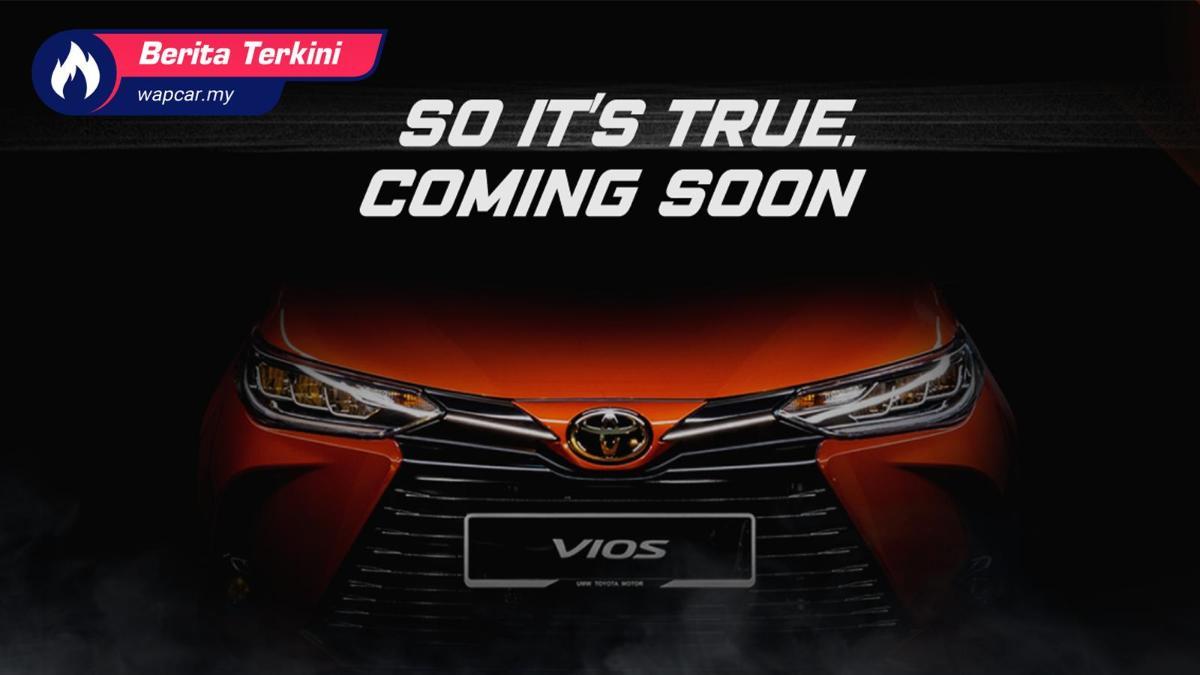 Toyota Vios 2021 facelift sah hadir ke Malaysia, pelancaran Disember 2020? 01