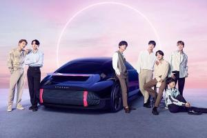 Hyundai Ioniq stars in BTS' latest song!