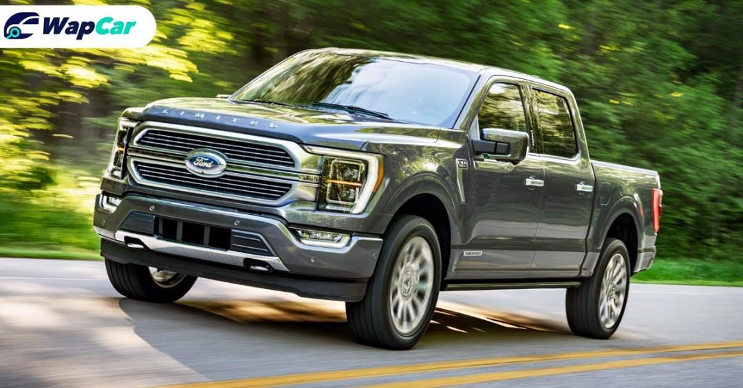 All-new 2021 Ford F-150 can do 1,126 km with one tank of petrol 01