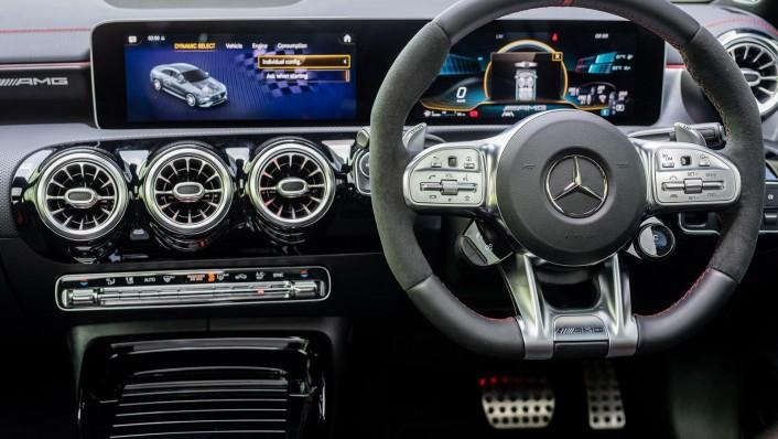2020 Mercedes-Benz AMG CLA 45 S Interior 005
