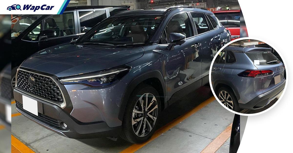 Toyota Corolla Cross spotted undisguised in Japan ahead of September 2021 launch 01