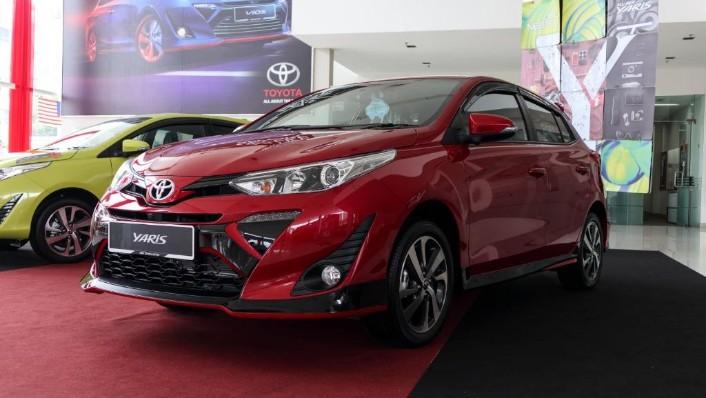 2019 Toyota Yaris 1.5E Exterior 001
