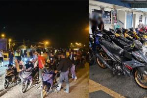 Mat rempit umur 33 tahun dicekup Ops Samseng Jalanan, jadi bahan jenaka warganet!