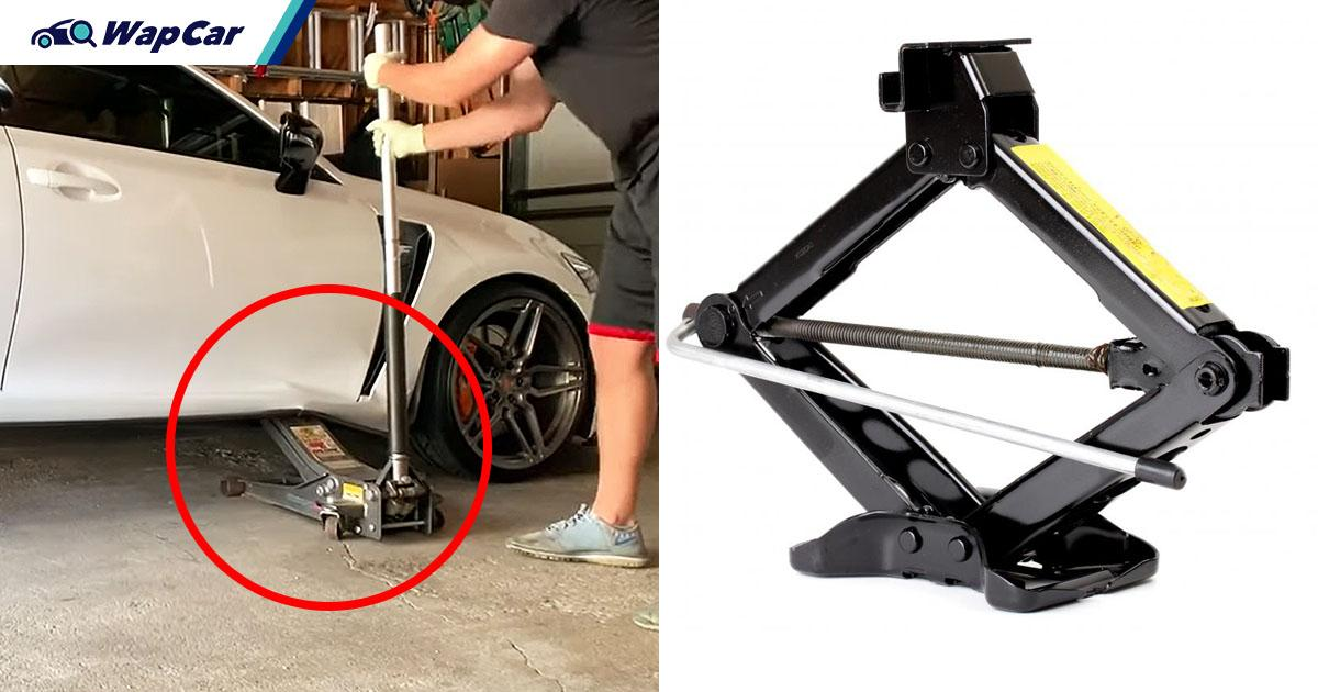 Stupid mistakes with the car jack can ruin your car or risk your life, here's how to avoid them 01