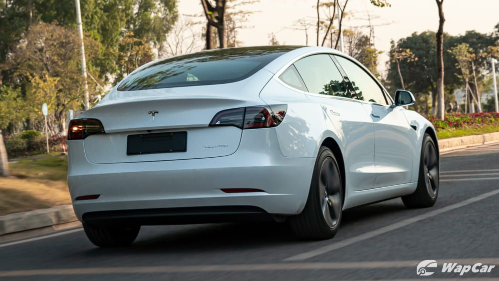 2020 Tesla Model 3 Rear Exterior