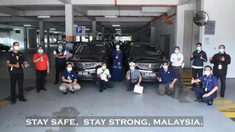 Proton to produce 60,000 face shields for Malaysian frontliners battling Covid-19 02