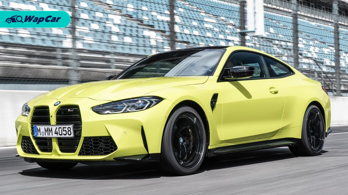 All-new 2021 BMW M4 debuts - up to 510 PS/650 Nm with a manual and a...Drift Analyser? 01