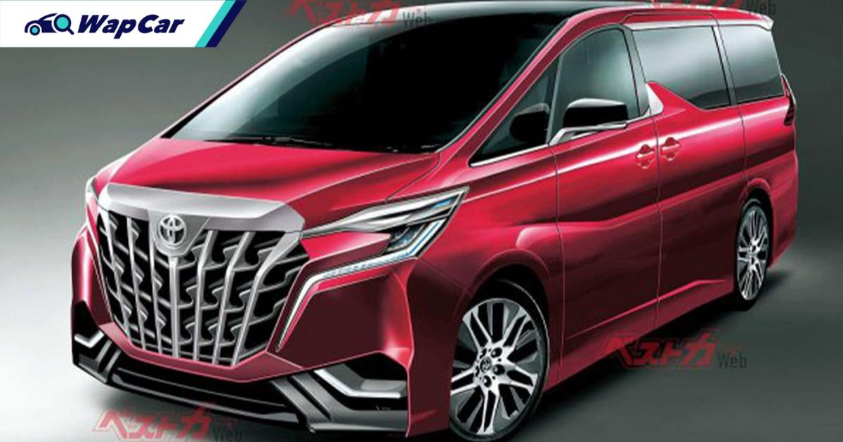 Rendered: 2022 Toyota Alphard imagined with inspiration from Transformers? 01