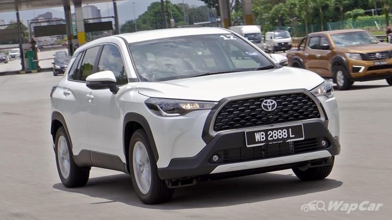 Toyota Corolla Cross 1.8V sampai juga di Malaysia, namun penghantaran ditunda sebab PKP 3.0 02